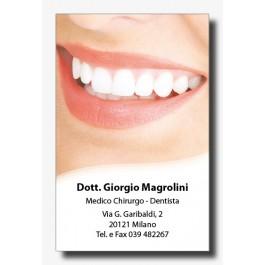 Biglietti Appuntamenti Dentisti (fronte mod. 1)