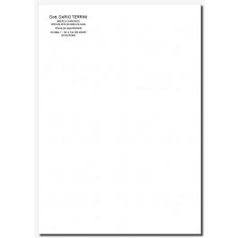Fogli Lettera Medici (mod. 1)