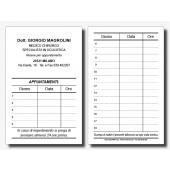 Cartoncini Appuntamenti Oculisti (mod. 1)